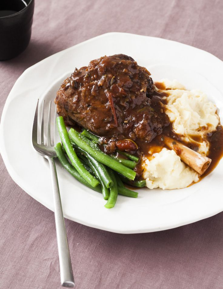 Slow cooked lamb shank recipe