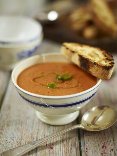 Roast tomato and bread soup | Jamie Oliver