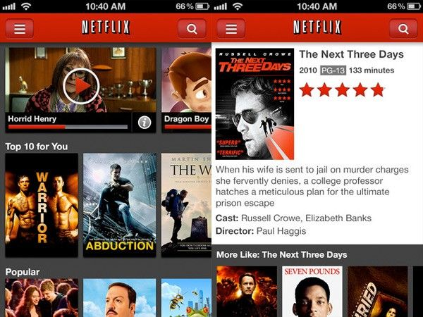 Netflix has made it possible to watch TV shows, movies, catch up on news, etc. at a time that best conveniences you. Not only can you sign into Netflix on game systems like the Xbox, PlayStation, Wii, etc., but you can also login and watch via computer, laptop and/or cellphone with the newer Netflix phone app. Netflix has allowed us to be able to watch our favorite movies and TV shows no matter how busy our schedule. -Katie Patchin