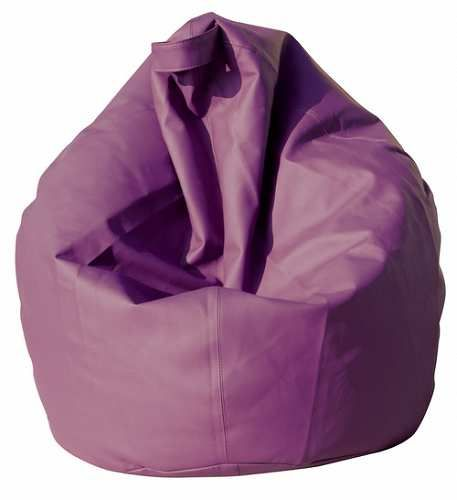 Prezzi e Sconti: #Poltrona a sacco pouf in eco pelle viola  ad Euro 79.90 in #Dormidea #Casa e arredamento pouf
