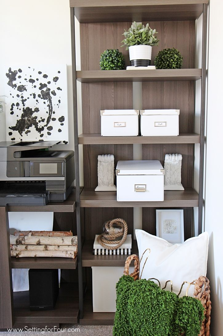 Adding Affordable Home Office Furniture Ideas And Designing A New Room  Layout Brings Order To My