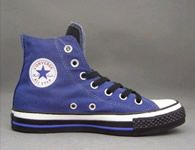 Converse Outlet All Star Chuck Taylor Canvas High tops Blue