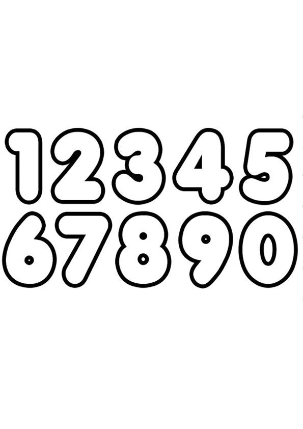Coloring Page Number Coloring Pages Birthday Coloring Pages Free Printable Numbers