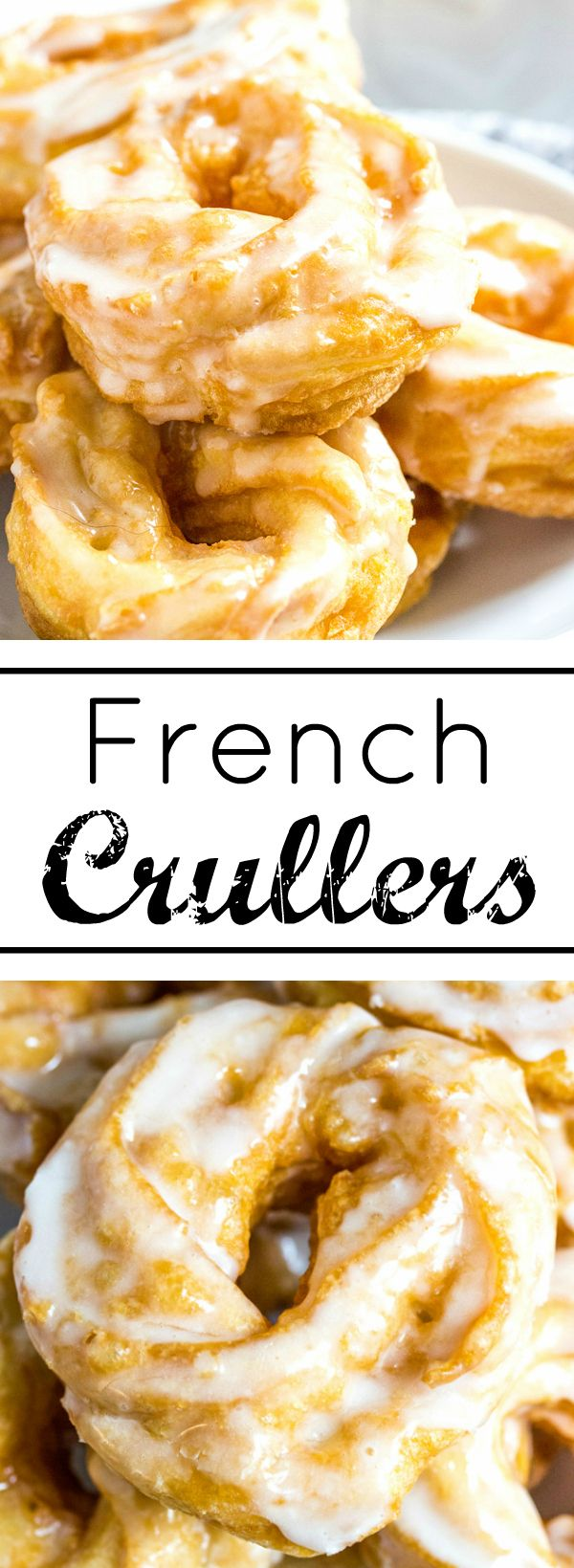 Great with your morning coffee these puffy and delicious French Crullers are so easy to make at home that you'll want the every morning!