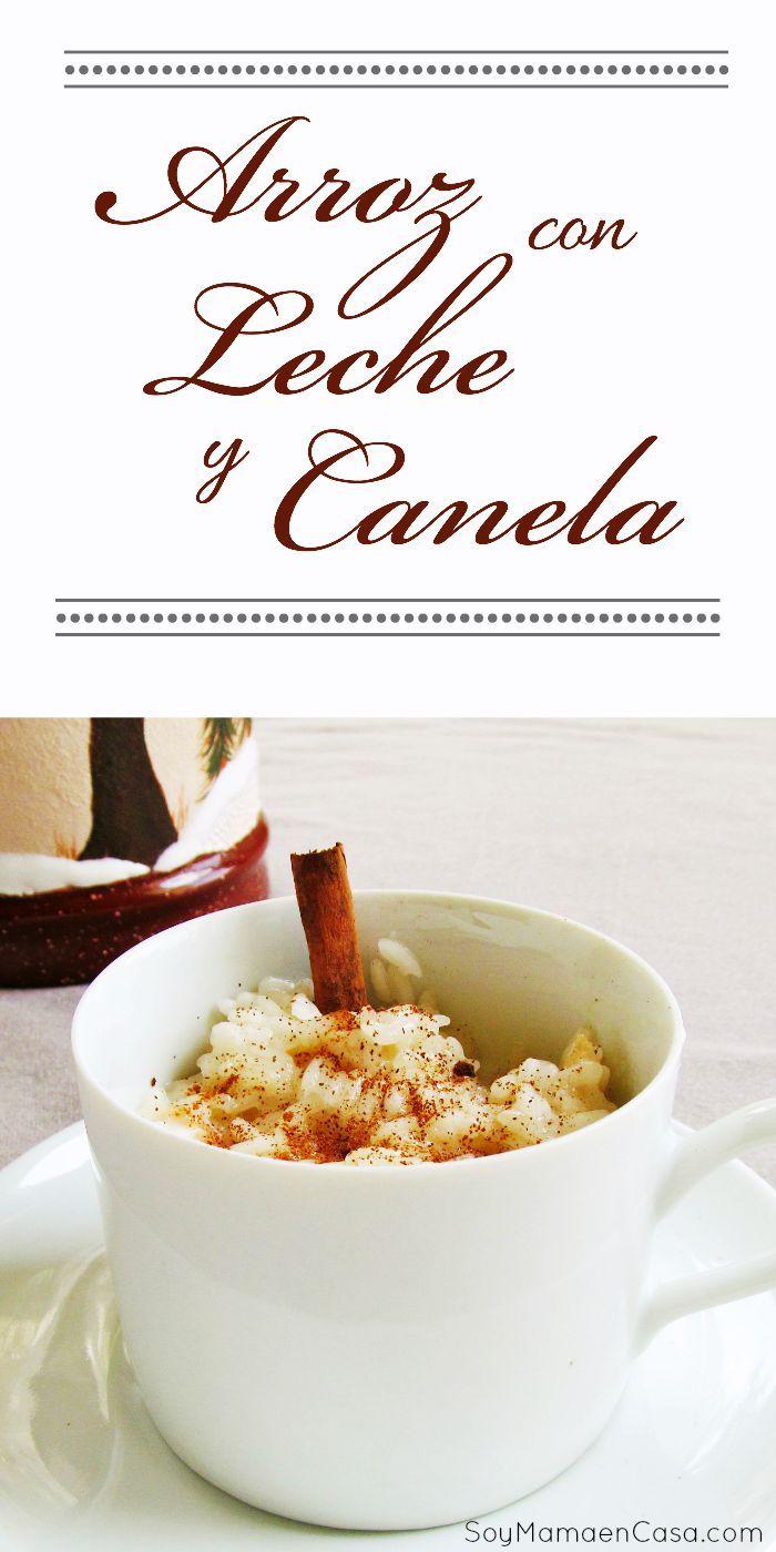 Cómo preparar un riquísimo Arroz con Leche y Canela #postres #recetas