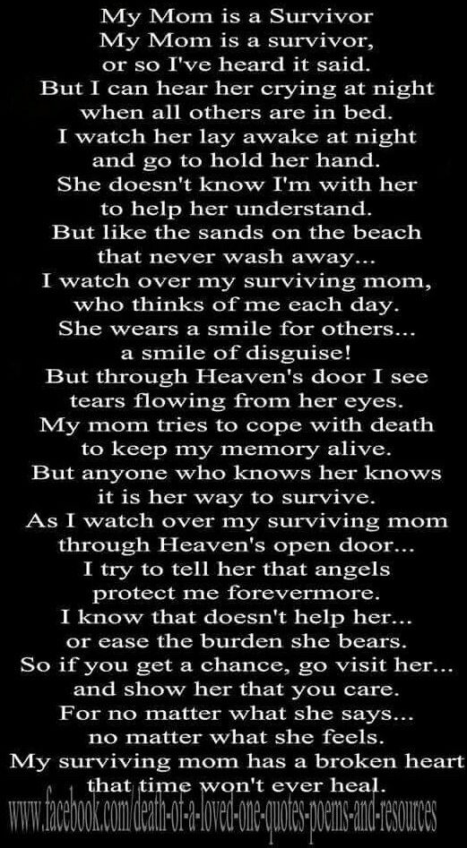 So very true. Missing my son so very much. 11/7/85 - 6/23/14