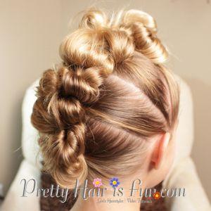 Mohawk Stuffed Bun: Pretty Hair is Fun + Knot Genie Discount Code!!
