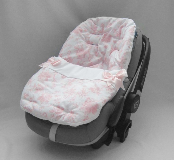 Your little lady will be comfortable and cosy with this beautiful Spanish rose patterned Infant car seat liner and cosy toes. Visit www.littlecottonsocksbabyboutique.co.uk