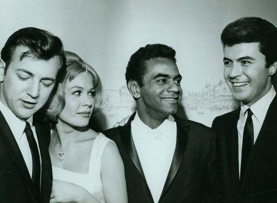Bobby Darin and Sandra Dee, Johnny Mathis, James Darren?  wow     again  Wow