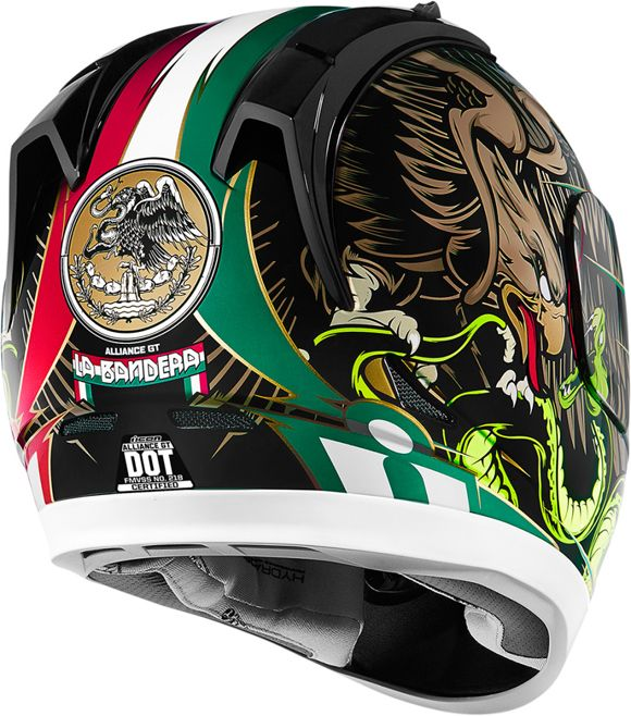 Recent Helmet Design by Hydro74 for Icon Motorsports