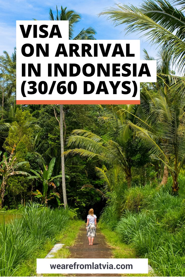 Getting Visa on Arrival in Indonesia | How to Extend Indonesian Visa on Arrival