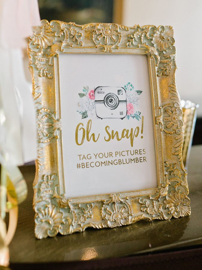 Interactive social media wedding sign: http://www.stylemepretty.com/2016/12/06/hurricane-matthew-wedding-relocation/ Photography: Amy Arrington - http://www.amyarrington.com/