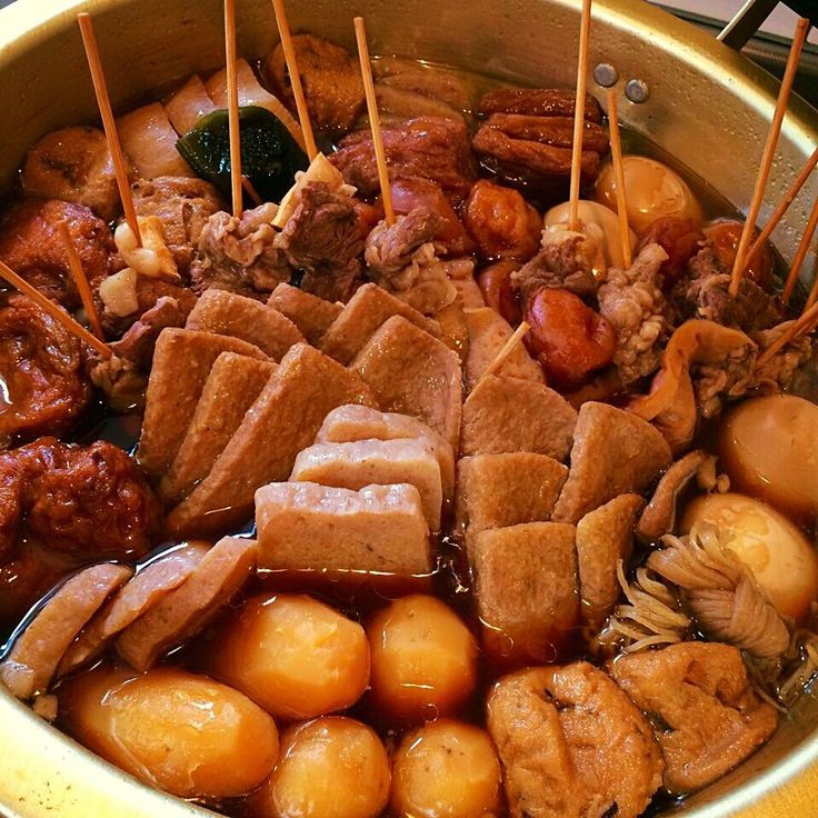 """Japanese stew""""ODEN""""in Shizuoka,  for second day/煮込み二日目の""""しぞ〜かおでん"""""""
