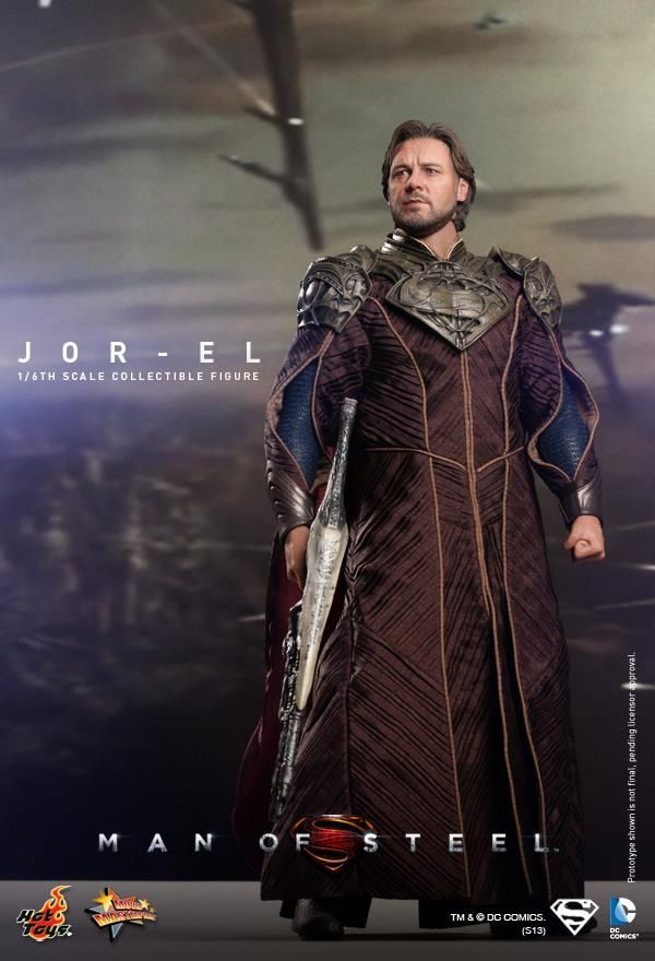 MAN OF STEEL - Hot Toys Jor-El Collectible Action Figure can't believe these are dolls:)!!!!!!!!