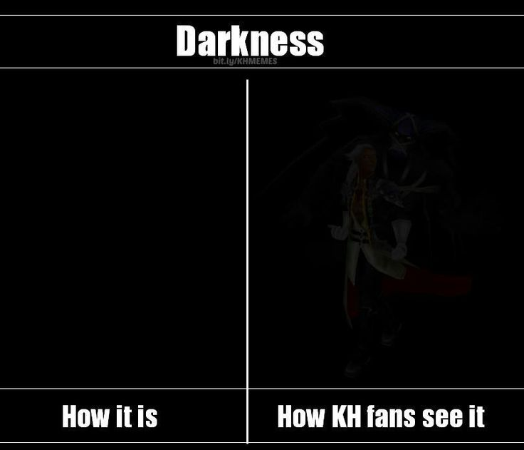 How the Kingdom Hearts fandom sees the darkness
