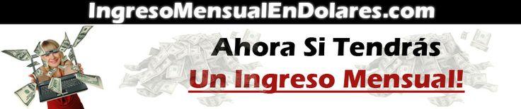 Como Crear Un Ingreso Mensual En Paypal Invirtiendo Sólo 1 Dólar! http://ingresomensualendolares.marketing-content.net #GanarDinero #paypal