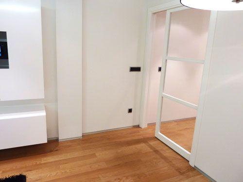 Puerta corredera grande interior buscar con google - Correderas para puertas corredizas ...