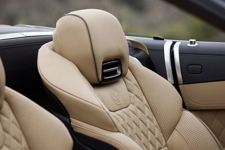 Mercedes-Benz SL 65 AMG interior. Join us at http://www.facebook.com/mercedesbenzmccarthy
