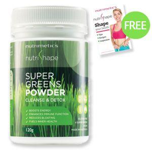 NutriShape Super Greens Powder 120g $29.90, Save $15.10  www.nutrimetics.com.au/susyalger