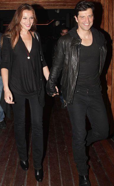 Sakis Rouvas  & wife Katia - Greek Singer