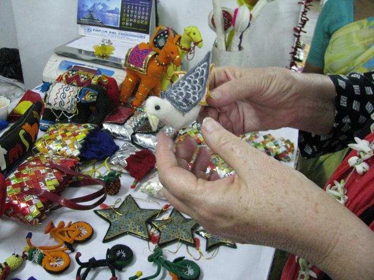 Handmade and fairtrade crafts