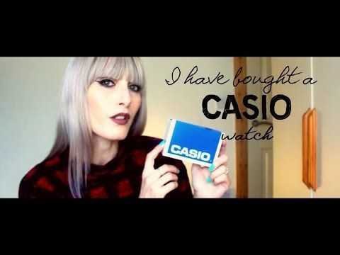 MichelaIsMyName: I have bought a CASIO watch | MICHELA ismyname ❤️