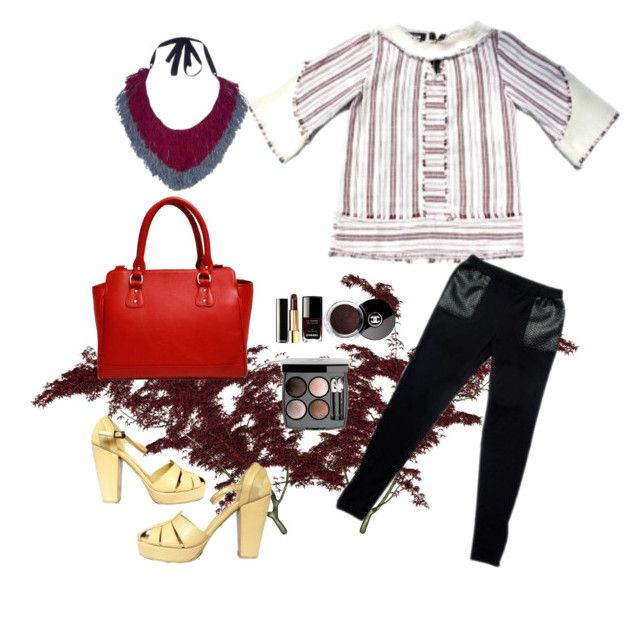 """""""Baduy autumn"""" by alaksmi08 on Polyvore featuring Chanel"""