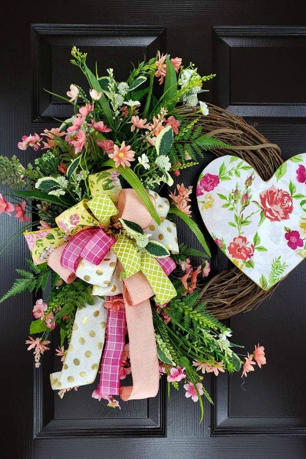 Wreaths Centerpieces By Creators In The Trendy Tree Marketing Group February 2019 Valentine Wreath Trendy Tree Wreaths