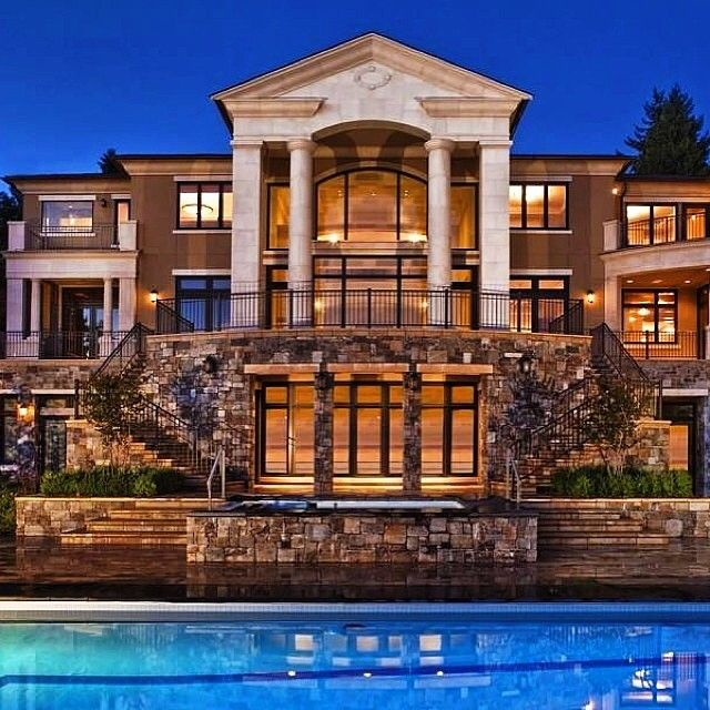 Awesome luxury home picture see more mansion homes at for Luxury glass homes