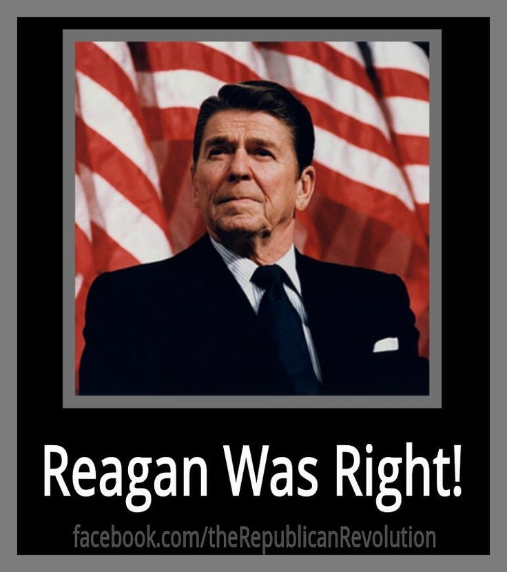 the perceptions of ronald reagan on the american government President ronald reagan had eight government shutdowns in his terms in office and it would be a very interesting experiment for the american people.
