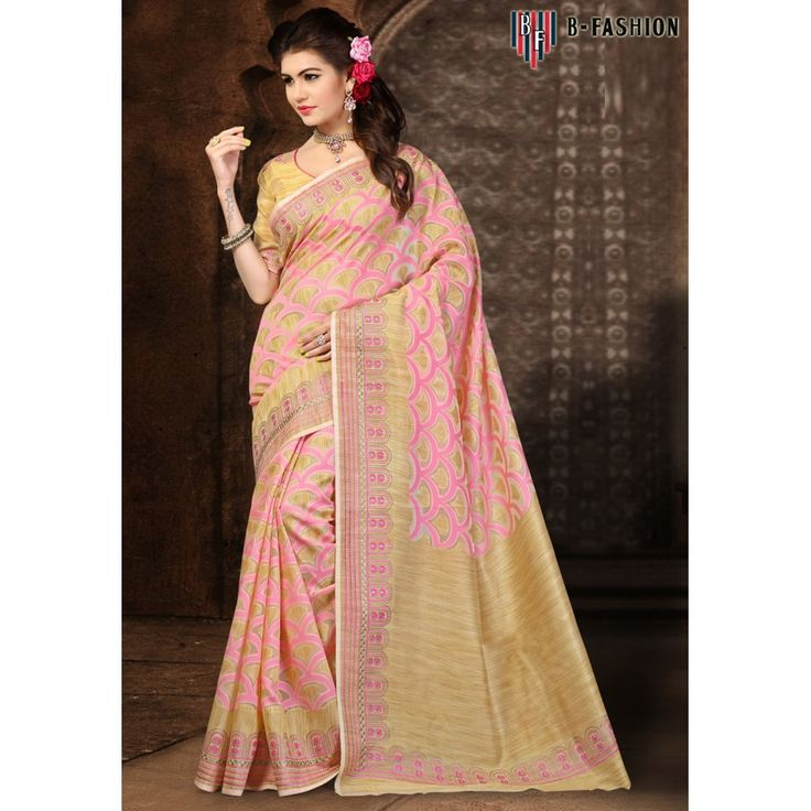 Charming Peach Color Pure Banarasi Silk Sarees at just Rs.2250/- on www.vendorvilla.com. Cash on Delivery, Easy Returns, Lowest Price.