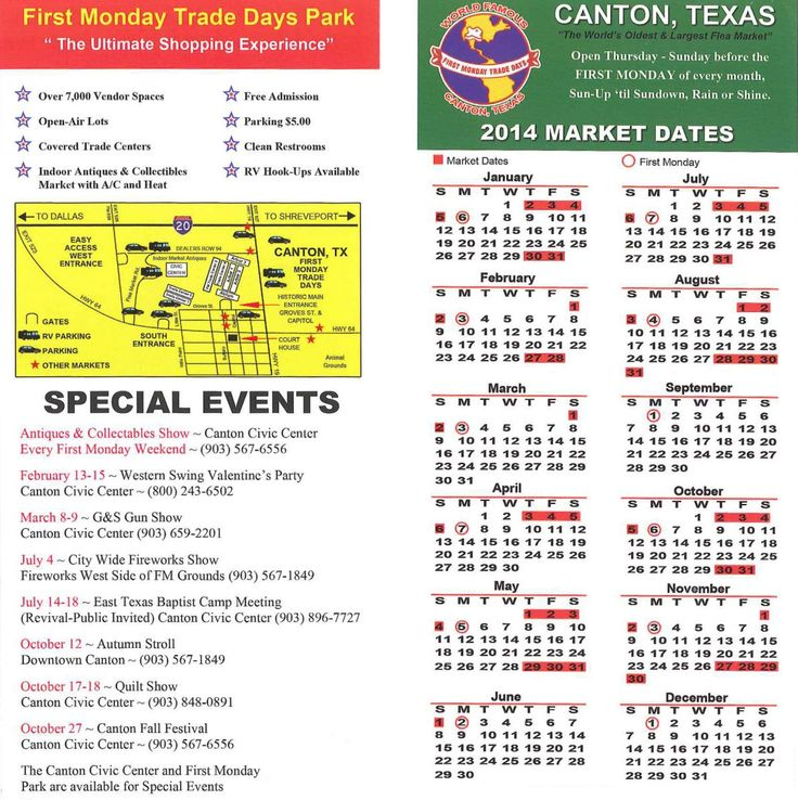 FIRST MONDAY TRADE DAYS | First Monday Canton