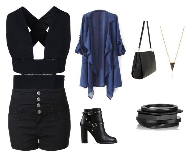 """""""Black & Blue"""" by thecitythatchangedall ❤ liked on Polyvore"""