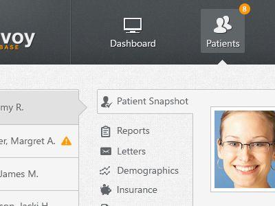 Envoy Web App - Dashboard #1