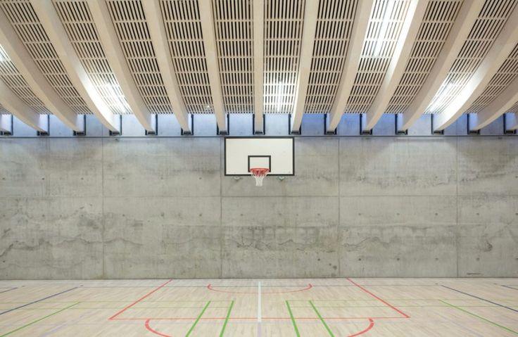 BIG's gammel hellerup gymnasium