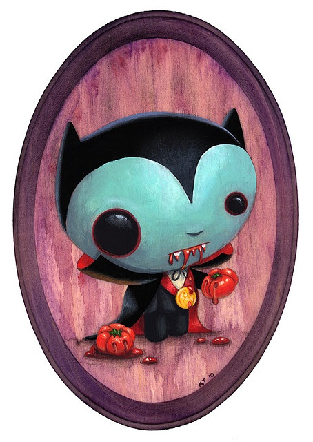 art by Kristen Tercek - this is gorgeous - very Mark Ryden-esque !
