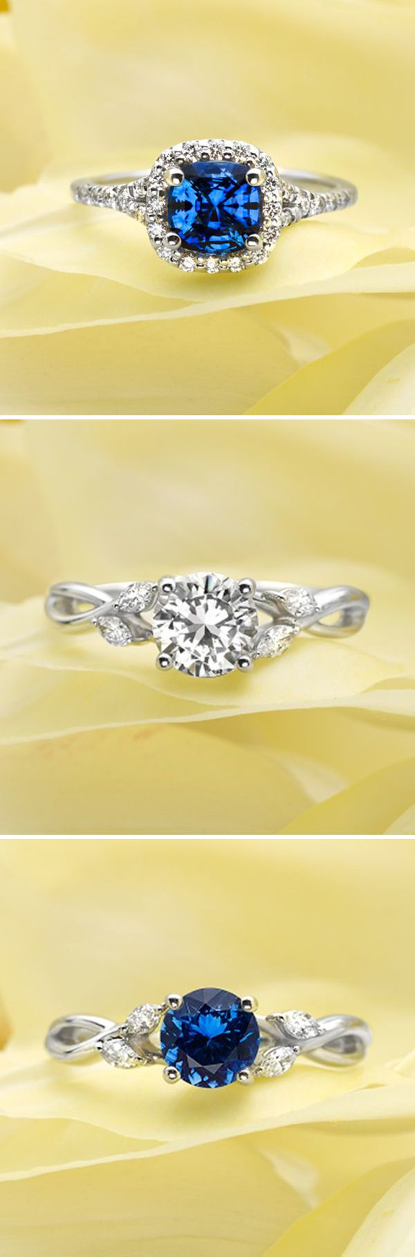 LOVE these rings! gorgeous designs for your #wedding