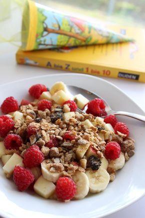 Frühstück, Kinder, Basic, Müsli   – Essen und trinken