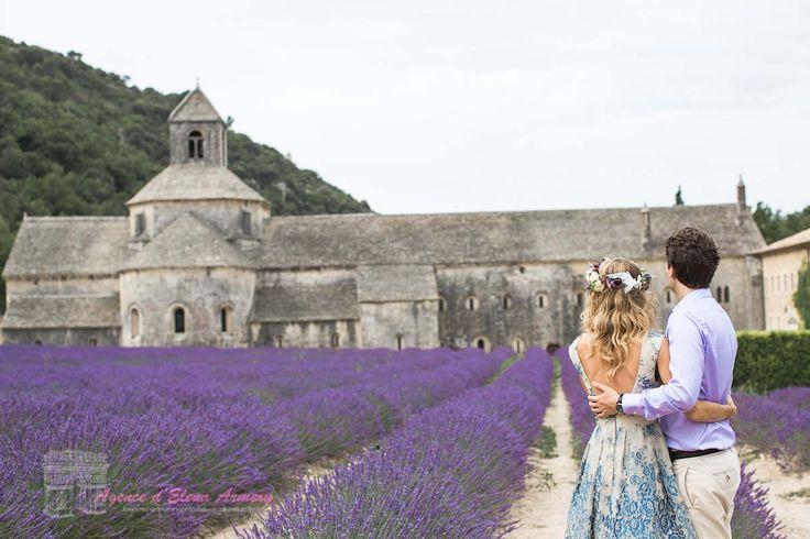 Свадьба в Провансе, фотосессия в лавандовых полях. Красивые свадьбы во Франции от Agence d'Elena Armery - Paris