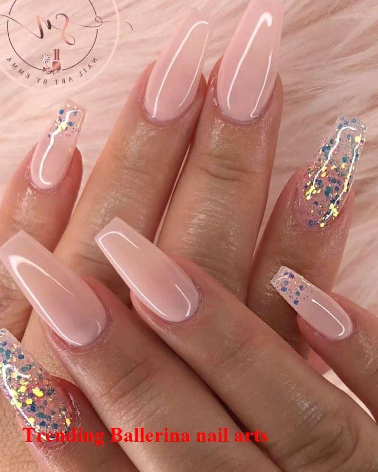Ballerina Nails On Trend 1 In 2020 Ballerina Nails Designs Ballerina Nails Nails