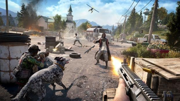 Far Cry 5 Runs At Native 4k On Xbox One X Far Cry 5 Far Cry 5 Ps4 Crying