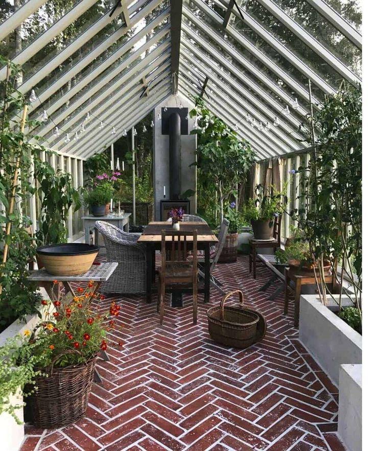 25+ Erstaunliche Gewächshausideen für den Wintergarten
