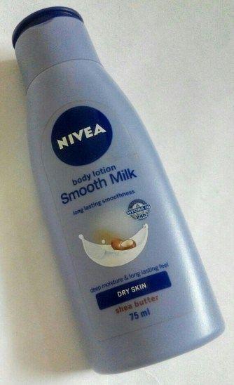 Nivea Smooth Milk Body Lotion - Review & Price.