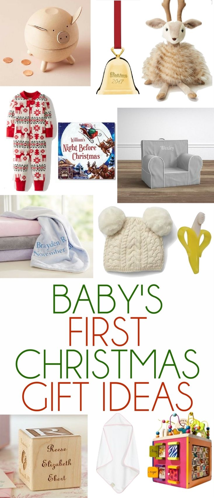 The Best Baby S First Christmas Gift Ideas Baby S First Christmas Gifts Baby Christmas Gifts Newborn Christmas Gifts