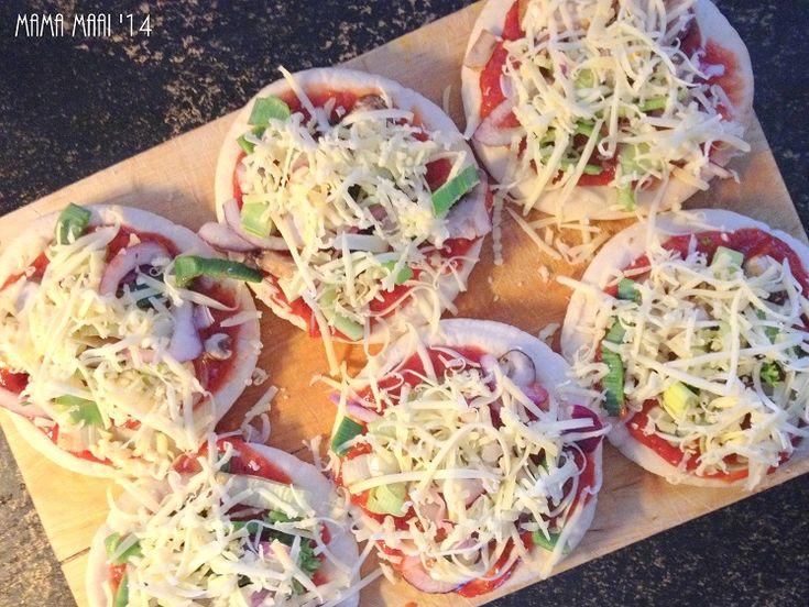 Lekkere snelle mini pizzatjes