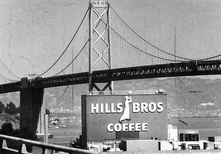 Hills Brothers Coffee sign, 1985