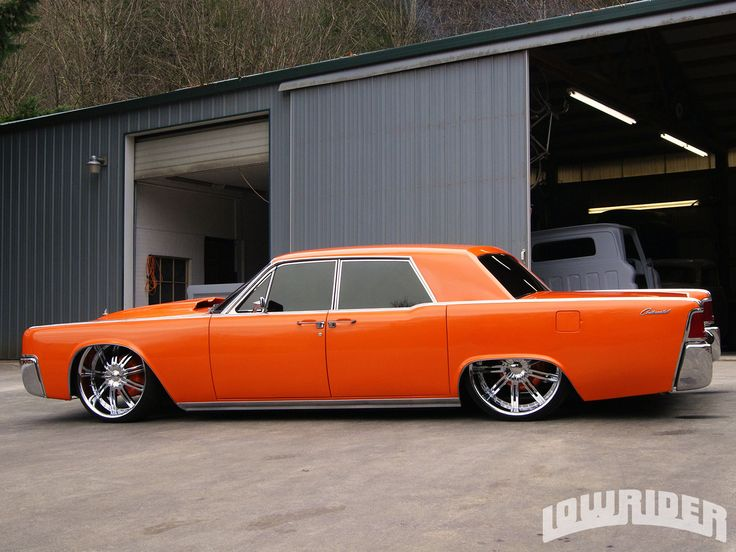 1964 Lincoln Continental Left Side View