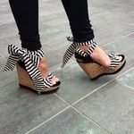 These wedges are so adorable! #shoes