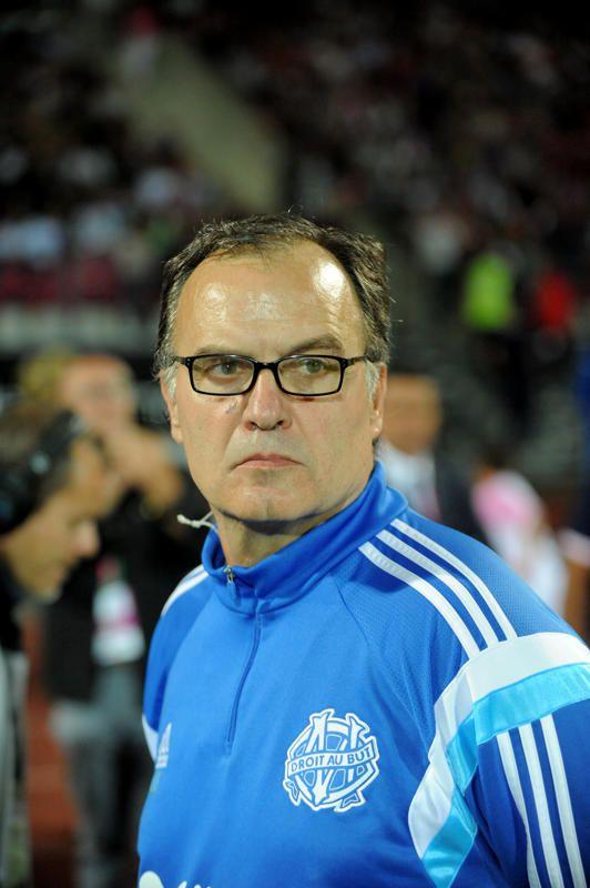 L'entraîneur de l'OM Marcelo Bielsa,