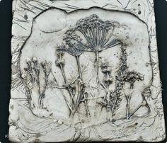 Картина панно рисунок Мастер-класс Литьё МК по отливкам из гипса панно листья магниты ч 1 Гипс фото 1